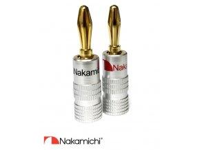 Nakamichi - Banana Plugs N0534B