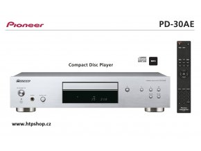 Pioneer PD 30AE stříbrné provedení