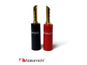 Nakamichi - Banana Plugs N0533E