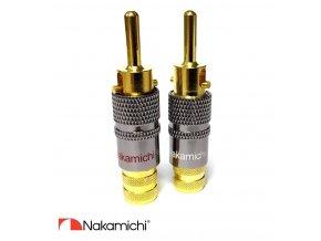 Nakamichi - Banana Plugs N0575
