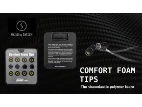 SUPRA Sound by Sweden Comfort Foam Tips