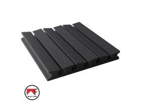 panel akustyczny absorber pm 3u 45x45 grafitowy