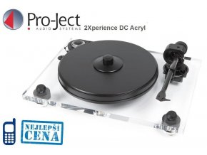 Pro-ject 2Xperience DC Acryl + 2M-SILVER