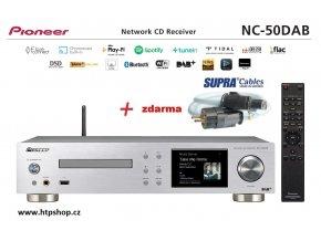 Pioneer NC 50DAB stříbrné provedení