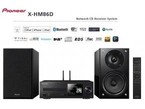 Pioneer X HM86D Black