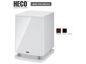 Heco Music Style SUB 25A White
