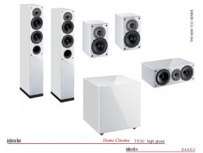 Indiana Line Tesi High Gloss Home Cinema Set 5.1