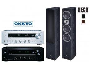 Onkyo TX-8270 + Heco Victa Prime 702