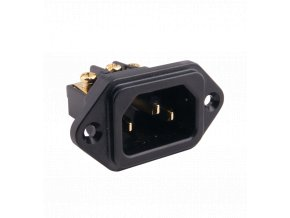 elecaudio es 3g iec socket gold plated