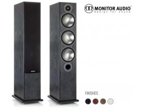 Monitor Audio Bronze 6 Black  ++ u nás k poslechu ve studiu ++