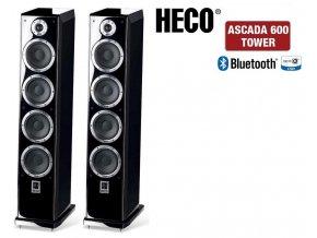 Heco Ascada Tower 600 Piano Black