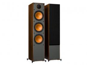 monitor audio monitor 300 iso walnut pair 1gr