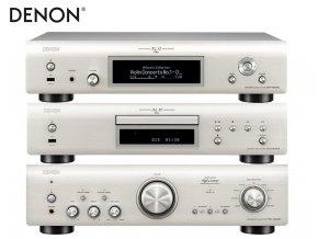Denon DCD 800NE + Denon PMA 800NE + Denon DNP 800NE Silver