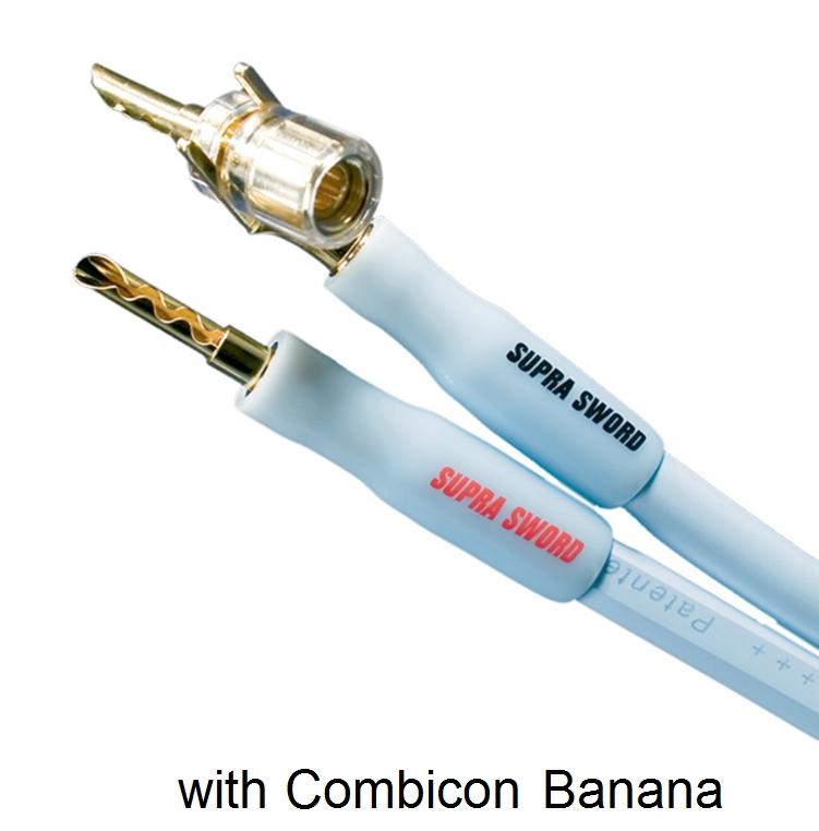 Supra Cables SUPRA Sword SET Loudspeaker Cable 2.4