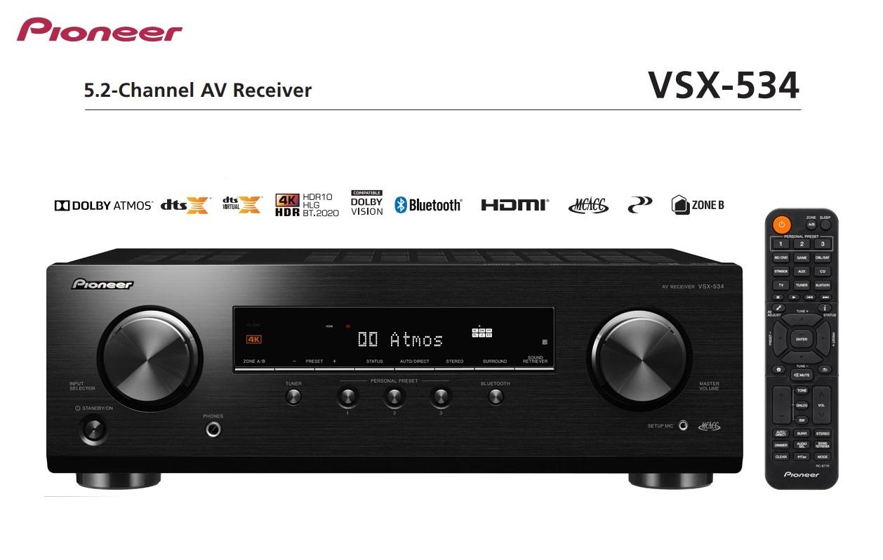 Pioneer VSX-534