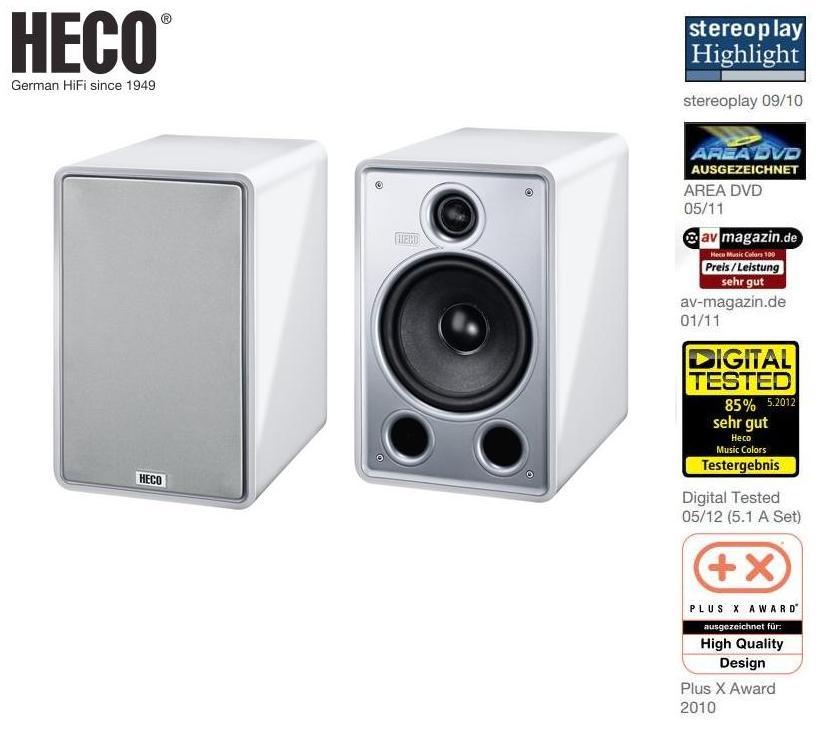 Heco Music Colors 170 HIGH ENGERY Barevné provedení: bílý klavírní lak