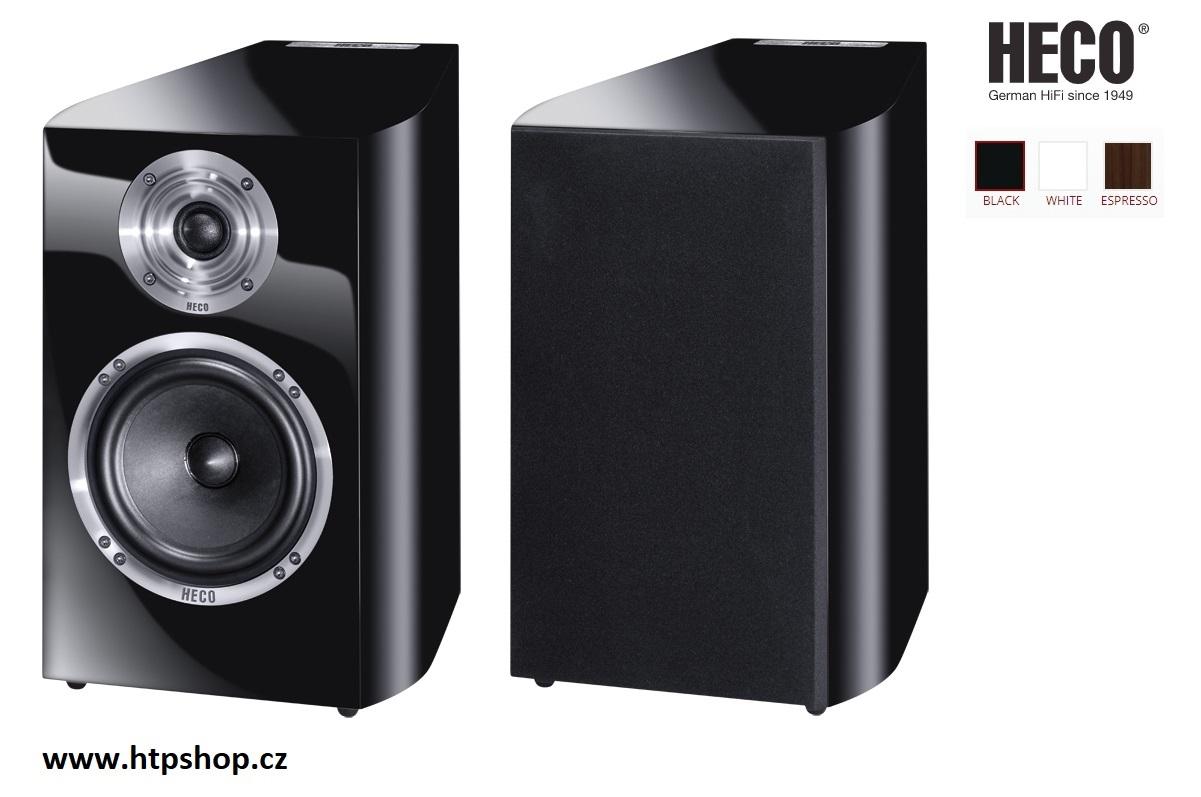 Heco Celan Revolution 3 + kabeláž zdarma ! Barevné provedení: černá - piano black