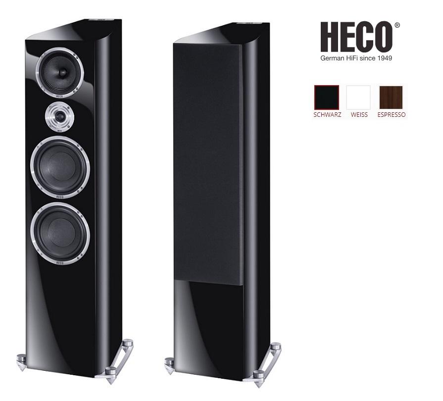 Heco Celan Revolution 9 Barevné provedení: černý klavírní lak
