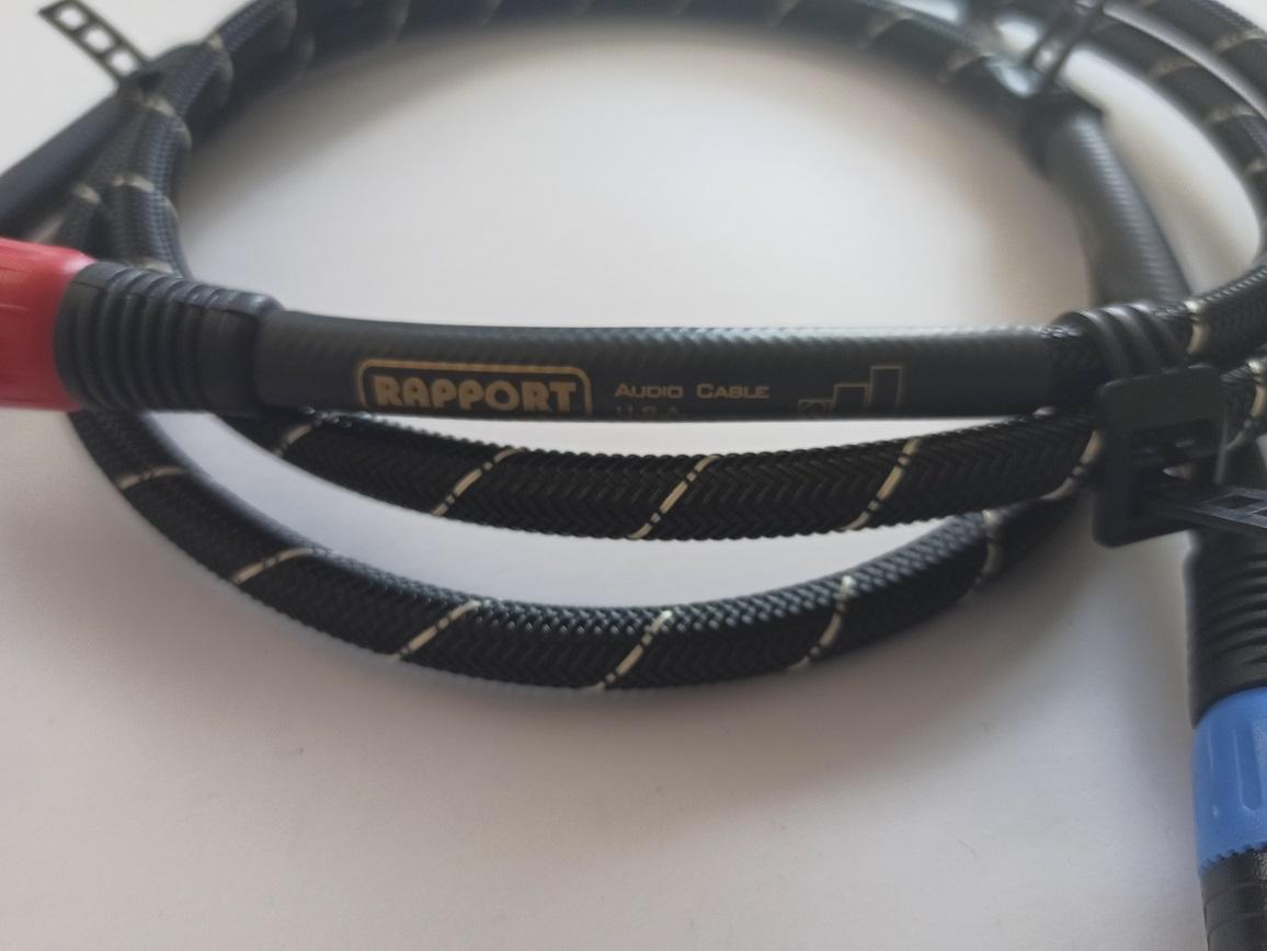 Rapport Audio XR-1801 Délky kabelů: 1,0 m