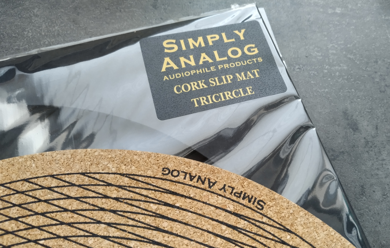 Simply Analog - Tricircle CORK SLIP MAT