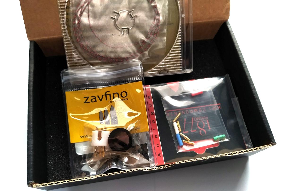 1877PHONO Zavfino 5-Litz-7 Tonearm Rewire Kit