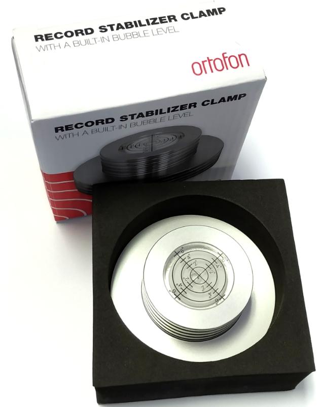 Ortofon Record Stabilizer clamp