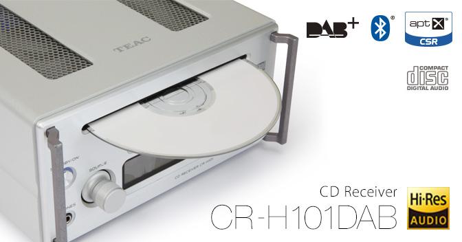 TEAC CRH-101 DAB Barevné provedení: stříbrné