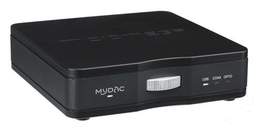 Micromega MyDAC Barevné provedení: černé