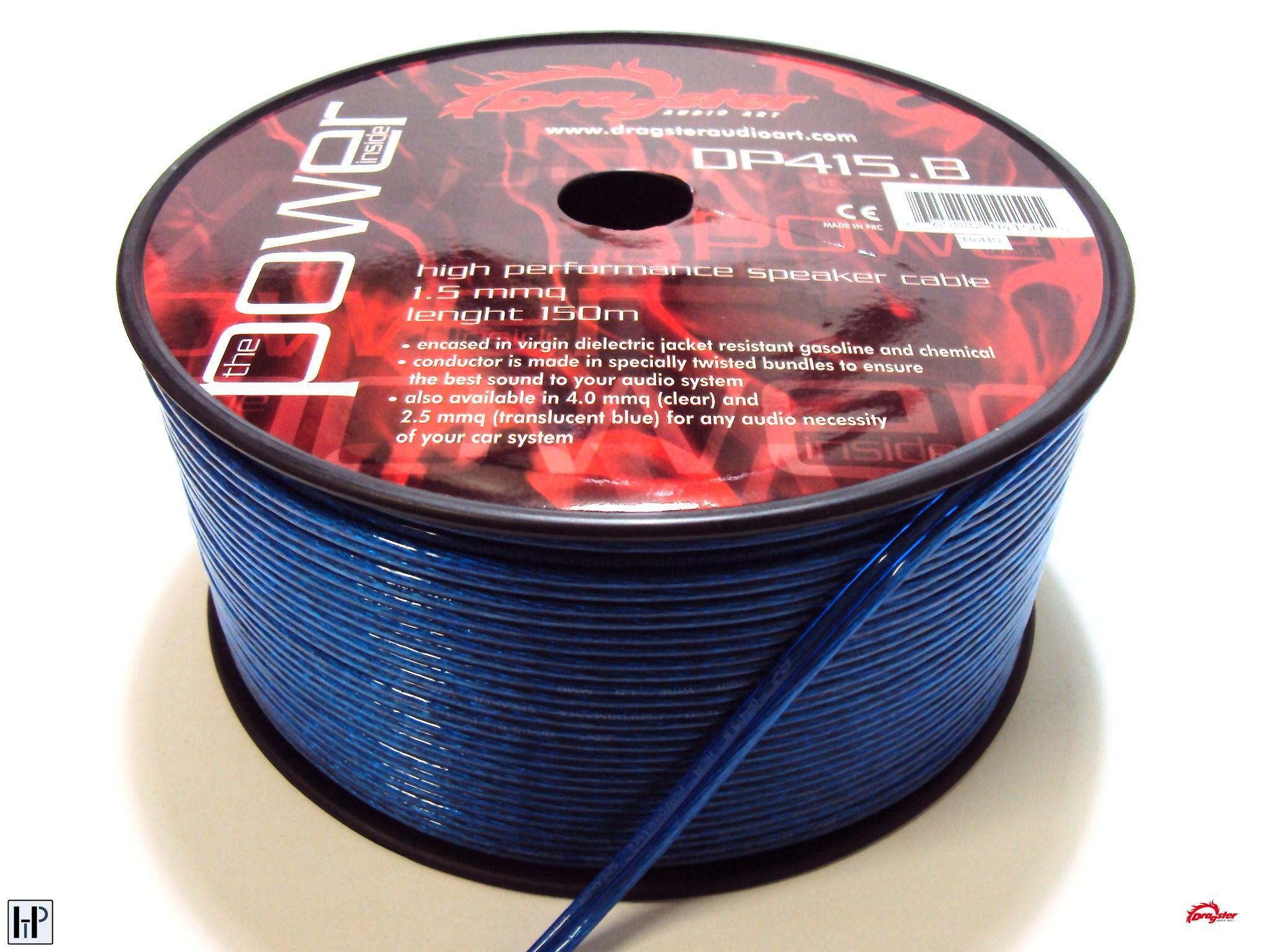 Dragster Speaker Cable DP.415B - 2x1,5mm