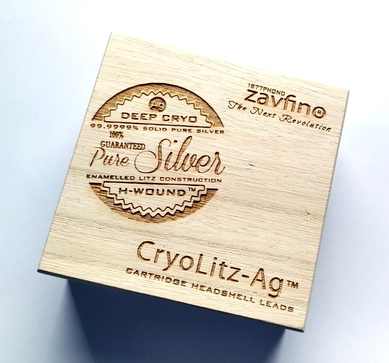 1877PHONO Zavfino CryoLitz-Ag Litz Pure Silver