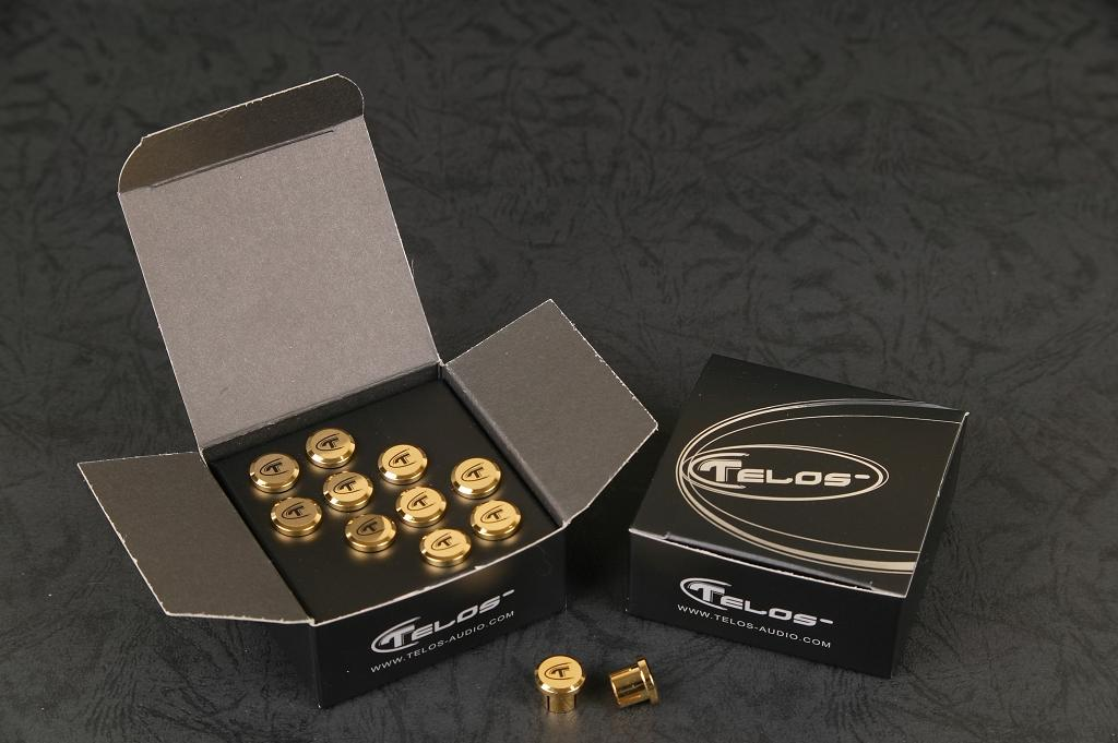 Telos Golden Reference RCA caps