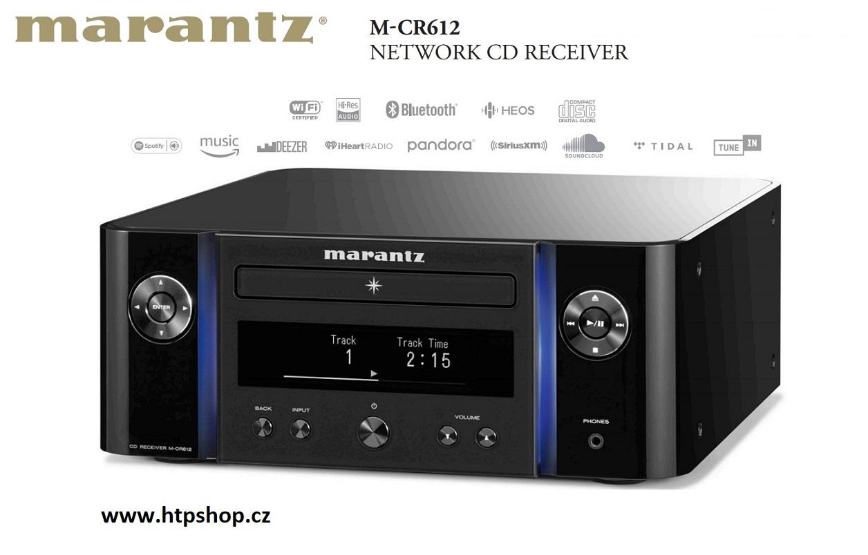 Marantz M-CR612 Melody X Barevné provedení: černé - black