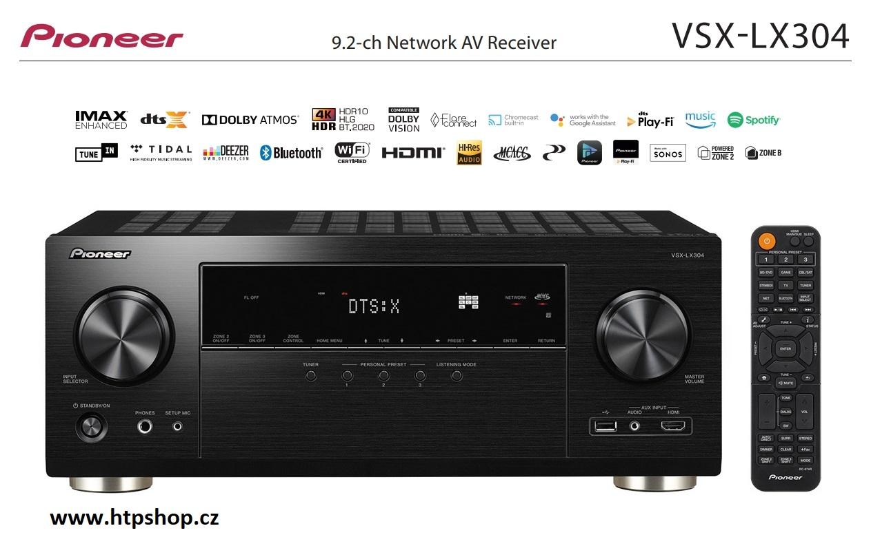 Pioneer VSX-LX304 Barevné provedení: černá - black