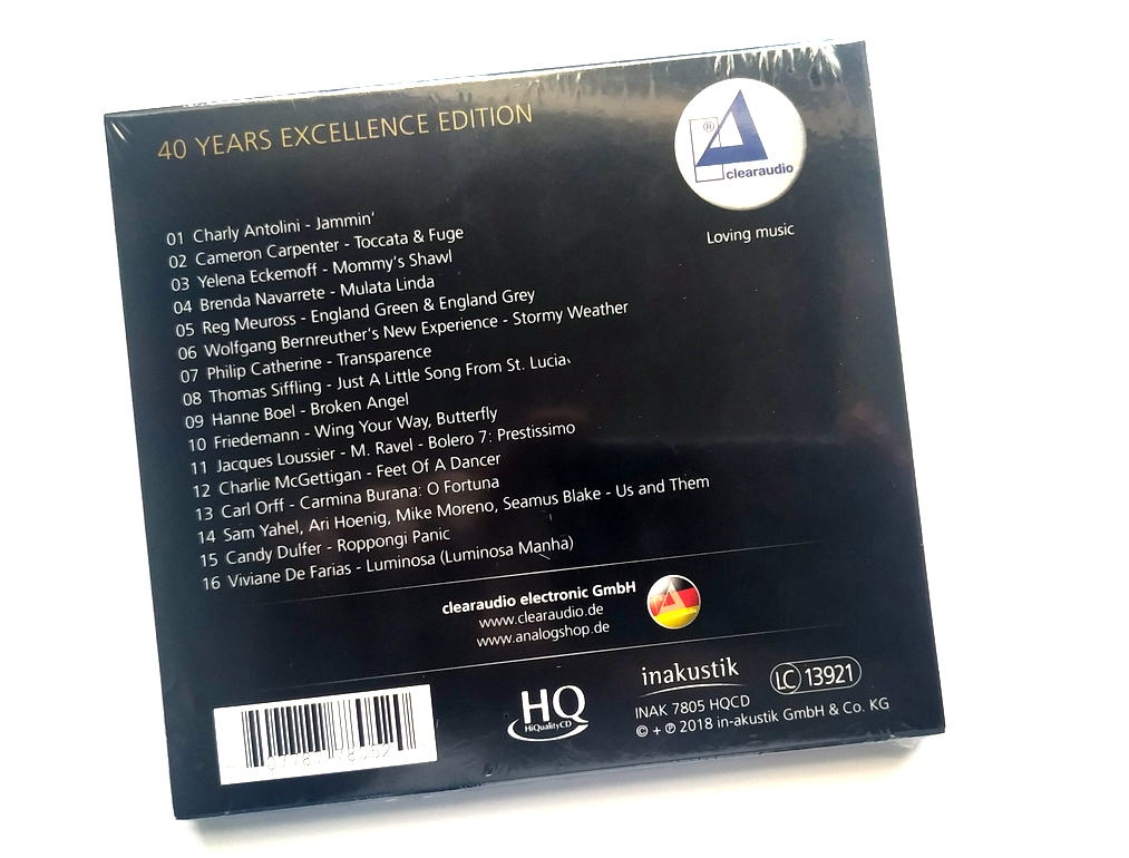 Různé značky Various – Clearaudio - 40 Years Excellence Edition