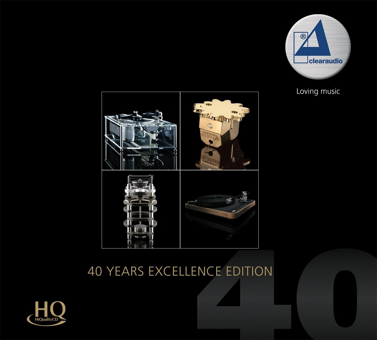 Různé značky Various ‎– Clearaudio - 40 Years Excellence Edition