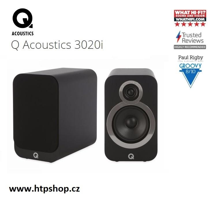 Q Acoustics 3020i Barevné provedení: černá - black