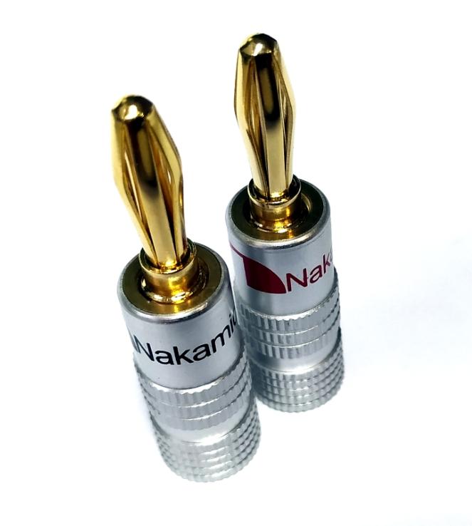 Nakamichi - Banana Plugs N0534