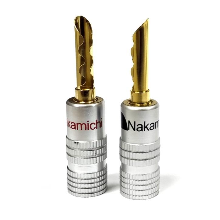 Nakamichi - Banana Plugs N0534E