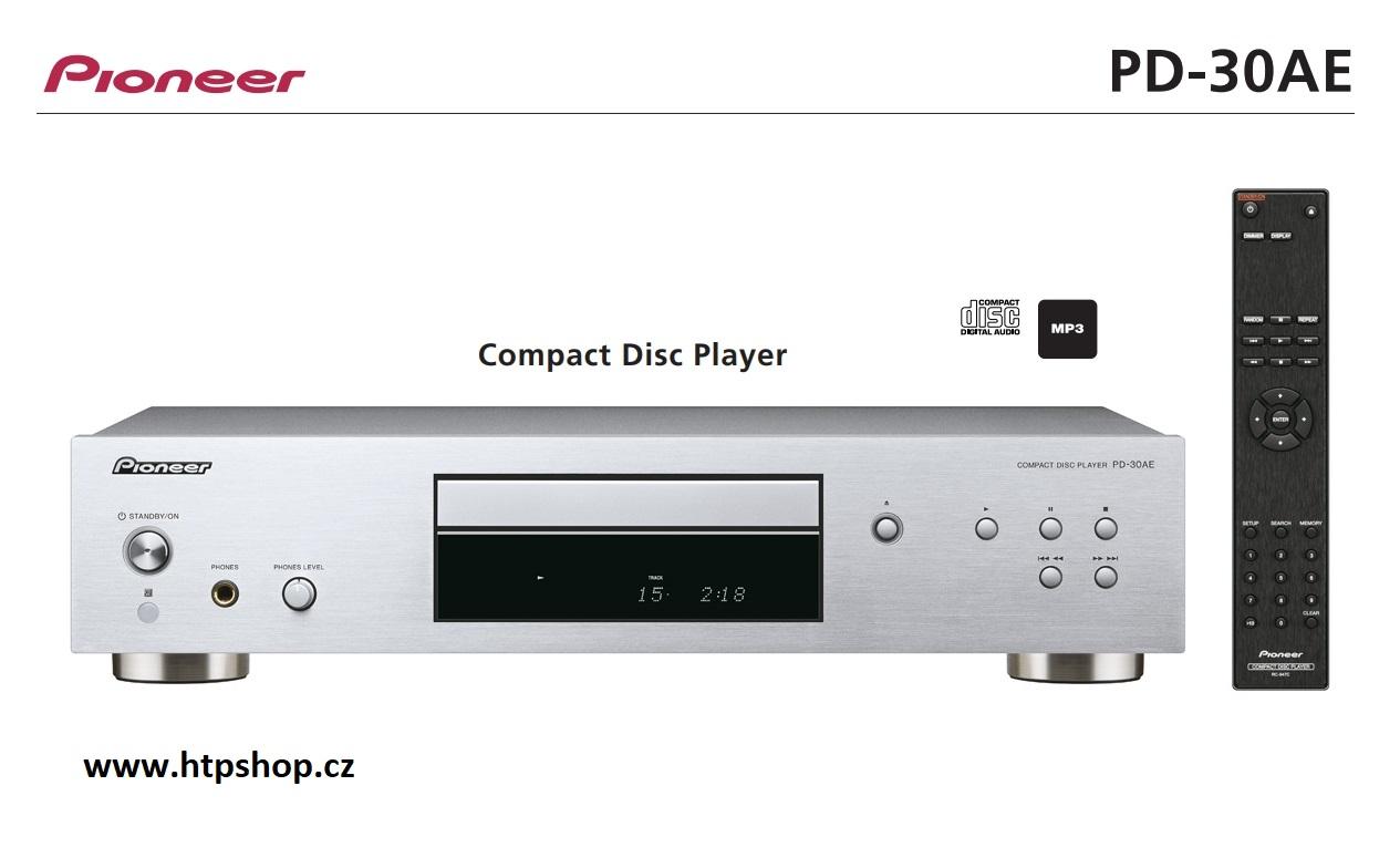 Pioneer PD-30AE Barevné provedení: stříbrné - silver
