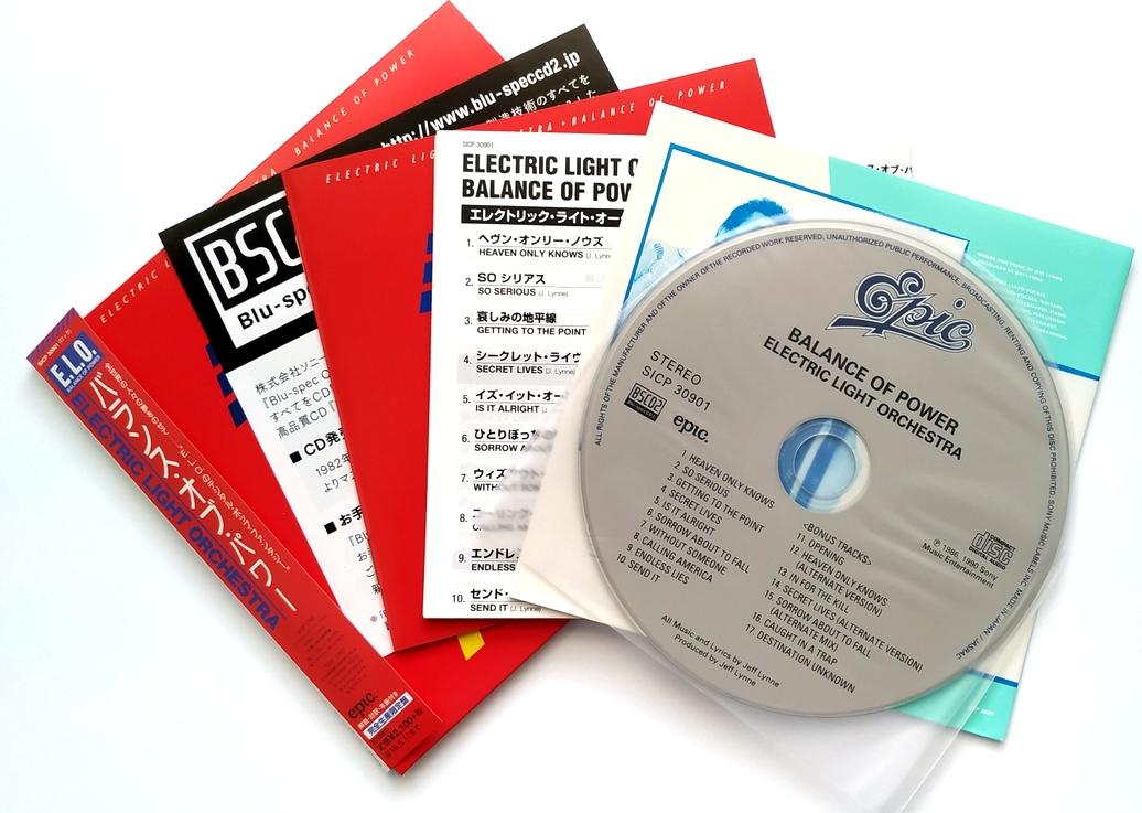 Různé značky The Electric Light Orchestra - Balance Of Power