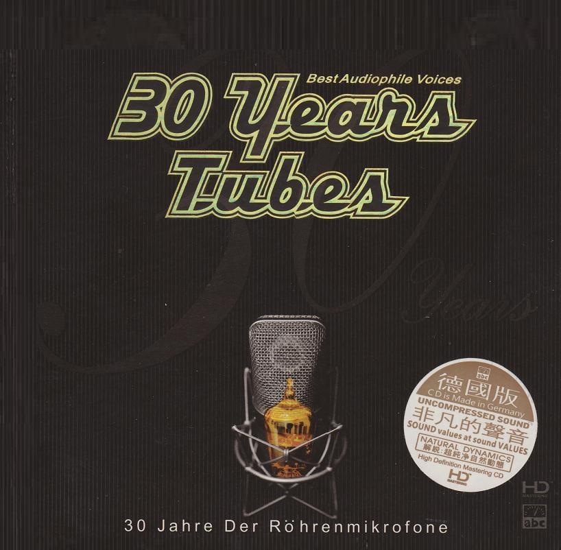 Různé značky 30 Years Tubes - Best Audio Voices
