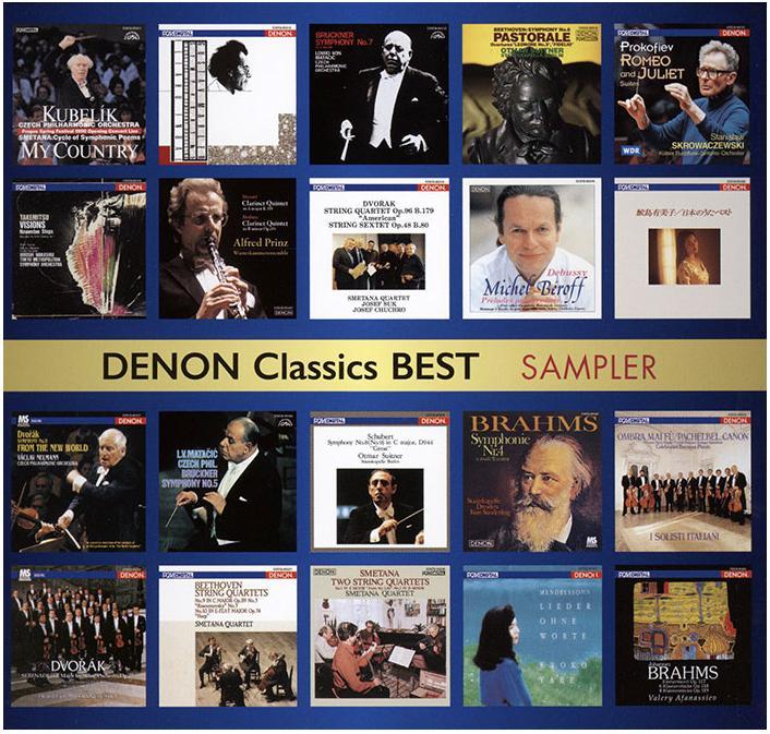 Různé značky SAMPLER - DENON Classics BEST