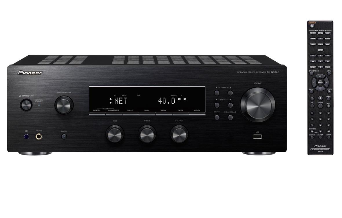Pioneer SX-N30AE Barevné provedení: černá - black