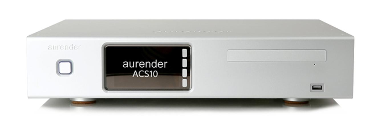 Aurender ACS10 16TB Barevné provedení: stříbrné