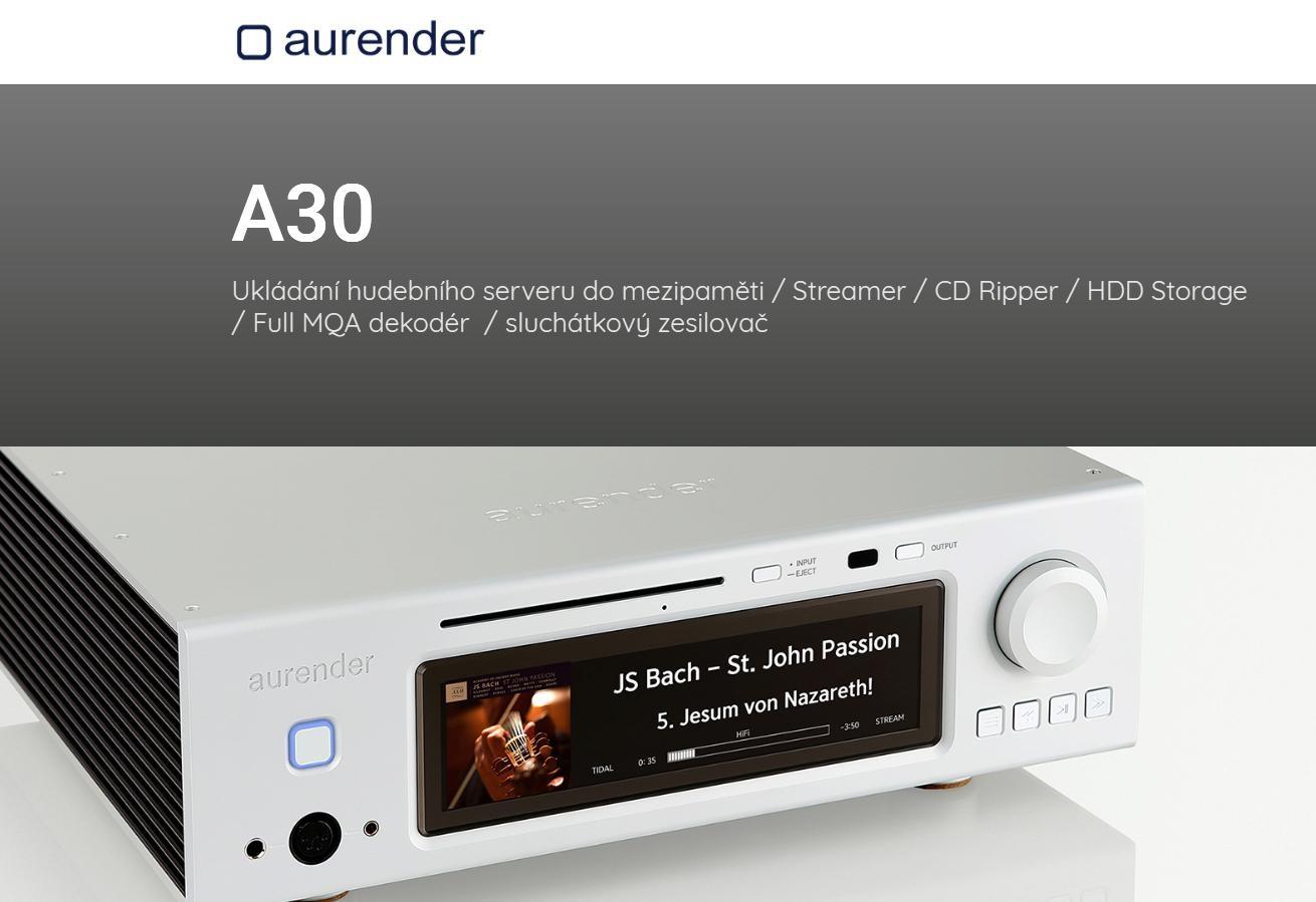 Aurender A30 Barevné provedení: černé