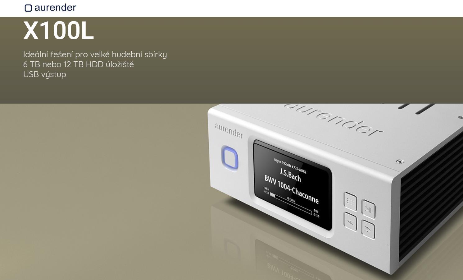 Aurender X100L - 12TB