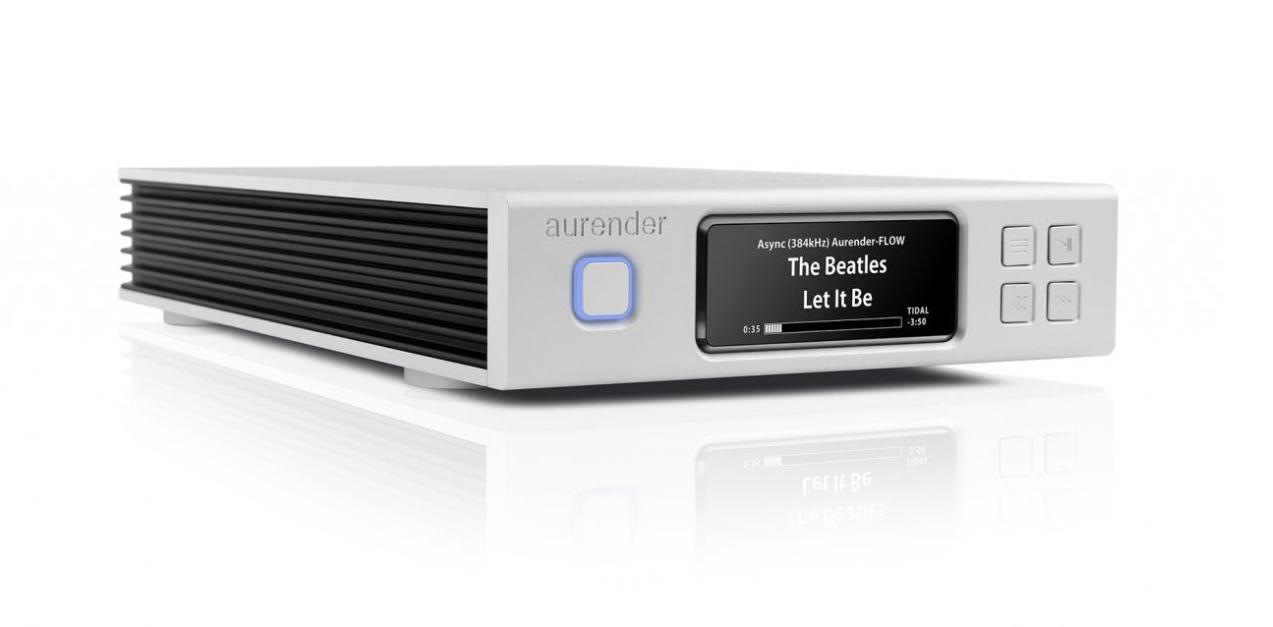 Aurender N100C - 4TB Barevné provedení: stříbrné