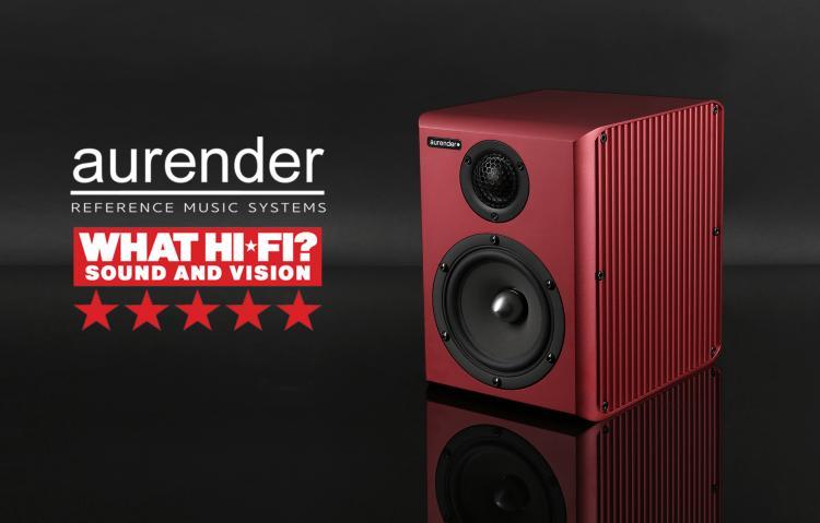 Aurender S5W Barevné provedení: červené