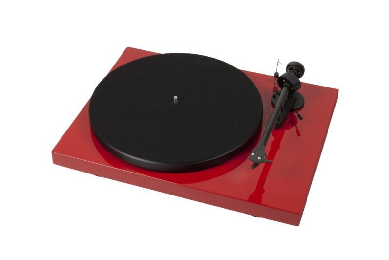 Pro-Ject Debut Carbon Phono USB DC + OM10 Barevné provedení: červené