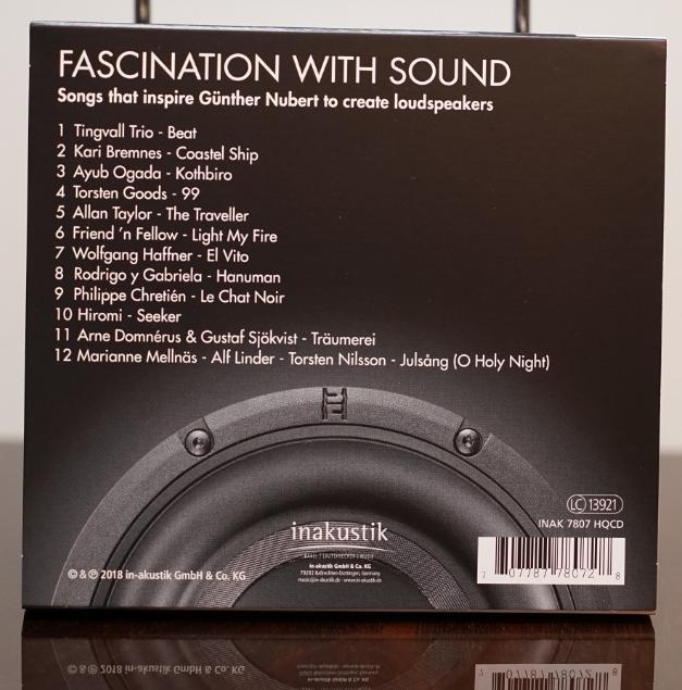 Různé značky Inakustik - NUBERT - FASCINATION WITH SOUND